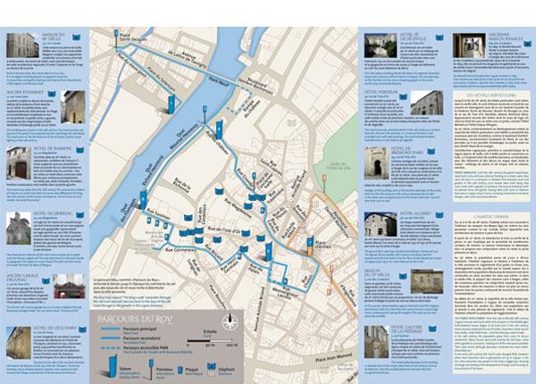 Culture tourisme cognac d pliant touristique for Plan de cognac